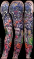 Nightmare before christmas tat by Florida19