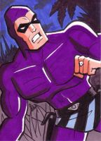 The Phantom Sketch Card by calslayton