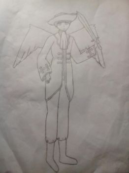 Hetalia: Pirate England With Wings by ItaliaAndNostalgia