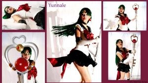 Super sailor pluto  from Sailor Moon stars by Yunnale