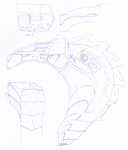 shoulder cannon wip by immortalundead