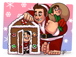 Fandom Christmas - Day 1 by piratehatter