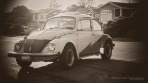 1974 VW Bug 0516 by thepixelworks