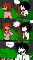 jeff the killer meets a fangirl by TOBI707