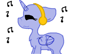 FTU  mlp headphone's base .... by The-Crazy-Canadian