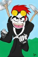 Jack Spicer by thequeerzebra