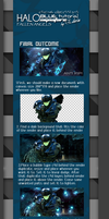 Halo Blue Signature Tutorial by edwinpabito