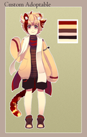Custom Tree Kangaroo Adoptable by Andreia-Chan