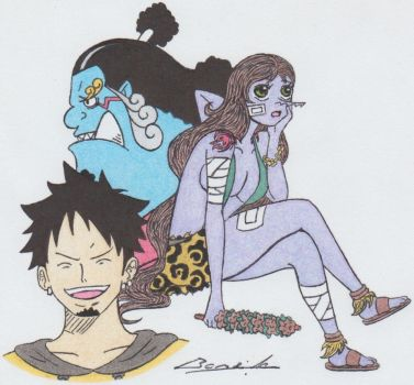FB: Jinbei,Law and Me by Alicetiger