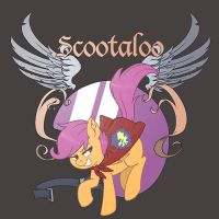 Scootaloo Emblem by kevinsano