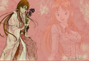 Orihime Inoue Wallpaper by PlayxDead88