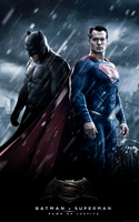 Batman v Superman - Dawn of Justice Poster by LamboMan7