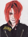 Gerard Way 9 by LauraHelenaRose