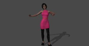 ADA WONG RESIDENT EVIL 2 REMAKE by FilorNotAlwaysMe