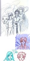 Guardian Sketches 02 by elfgrove