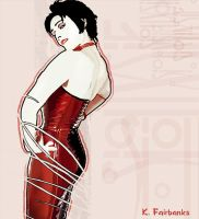 Siouxsie Sioux in Red by eyeqandy