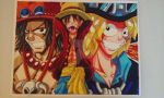 One Piece: My Big Brothers! by d13mon-studios