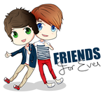 Harry and Louis Friends Forever by Cassy-F-E