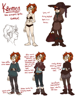 KARMEN OUTFITS by AgentDax