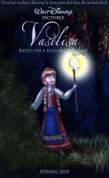 Movie poster - Disney's Vasilisa by GracefulTatiana1897