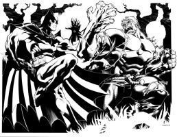 Batman VS Solomon Grundy by ChristopherStevens