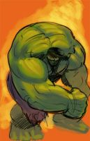Hulk Squeeze by RayDillon