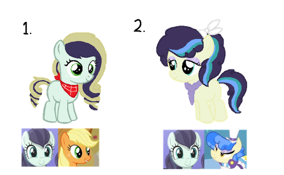 One Pony Breeding adopt [Coloratura] [Open!] by ShimmerStarGirl12