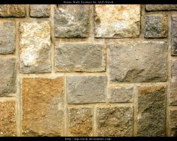 Stone Wall Texture by ALP-Stock
