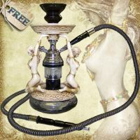 Egyptian Style Hooka by Just-A-Little-Knotty