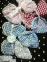 Cute Lolita Hairbows FOR SALE by XxShirokoxX