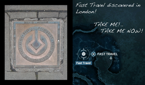 Fast Travel in London by suki-red