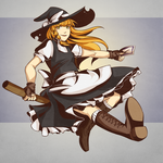Kirisame Marisa by lionrion