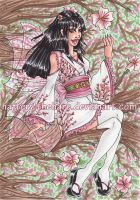 .:Cherry.Blossom.Fairy:. by Hatter2theHare