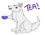 Can't beat a cup of english tea! by SilverShadowfax