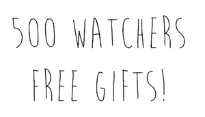 500 Watchers Free Gifts! by SimplySilent