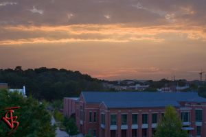 UGA East Campus at sunset by cjbroom