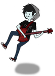 Let's Jam With Marshall Lee by chaela0109