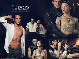 The Tudors Wallpaper by bleedgraphics