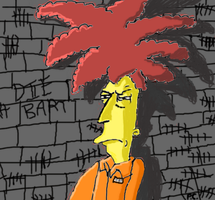 Sideshow Bob In Prison by Biggest-Bob-Fan-Ever
