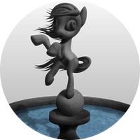 Pony Statue Fountain - Special WIP thingie! by Konsumo