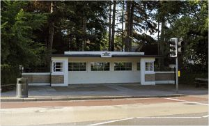 LEICESTER,The Art Deco Tram and Bus Shelters by Chrobal