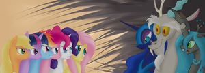 Prepare for the power of friendship by pukihontasz