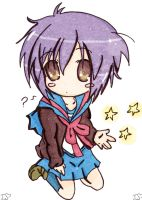 Nagato Lucky star style by Anime-sama