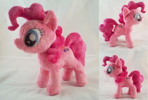 Pinkie Pie Plush by dollphinwing