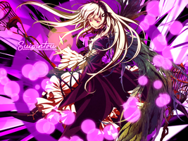 Suigintou Wallpaper by Exartia