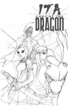Ita: COTD V.2 Cover Sketch by localgod325