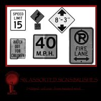 Twisted Mind street signs vol 1 by Textures-and-More
