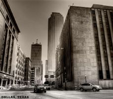 Downtown Dallas TX by nat1874