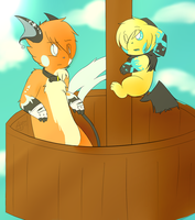.:RS - Ocean Survey - Collab 1:. by KitsuneFlame78