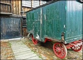 The Old Trailer by Estruda